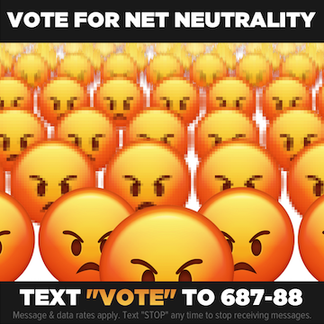 Vote for Net Neutrality profile image